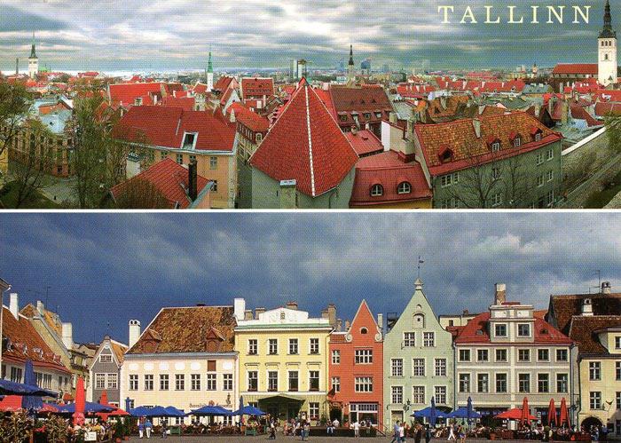 Các nhà khảo cổ học đã tìm thấy những dấu vết về việc định cư đầu tiên của con người được tại Trung tâm thành phố của Tallinn