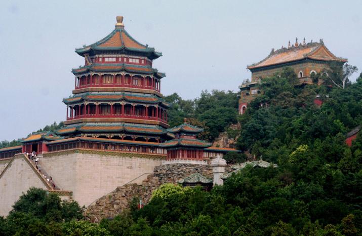 Di Hòa Viên là một cung điện được xây dựng thời nhà Thanh