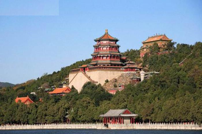 Phật Hương, đây là một ngôi chùa nhiều tầng nguy nga lộng lẫy, đây là nơi để Từ Hy niệm phật thường ngày.