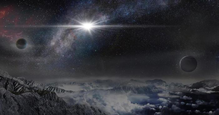 Hình minh họa siêu tân tinh ASASSN-15lh.