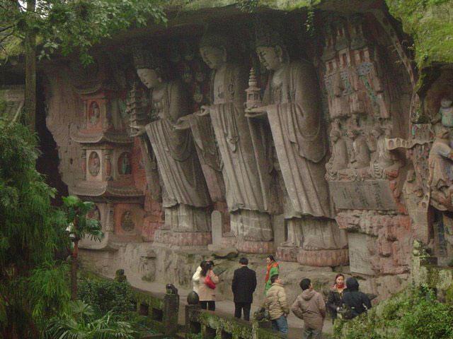 Đại Trúc nằm ở vùng ngoại ô Trùng Khánh thành phố trực thuộc ở miền tây nam Trung Quốc, được mệnh danh là xứ sở nghệ thuật khắc đá Trung Quốc.