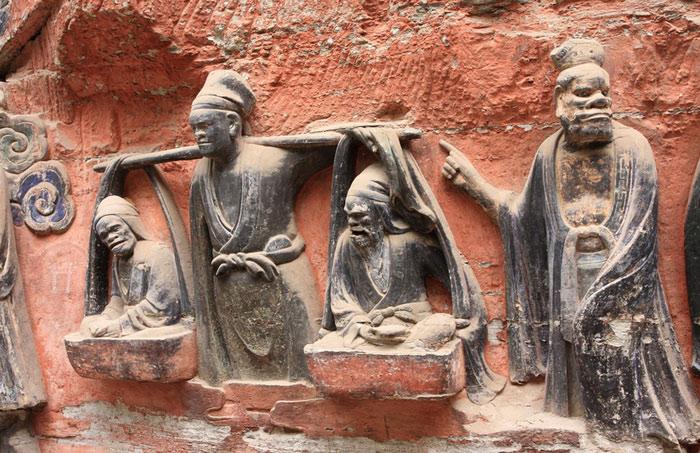 Unesco đã công nhận Tượng khắc đá Đại Túc của Trung Quốc là Di sản văn hóa thế giới năm 1999.