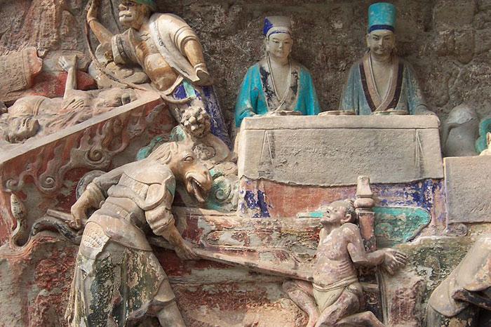 Đây cũng là tác phẩm cuối cùng của đoạn lịch sử phát triển nghệ thuật Phật giáo Trung Quốc.