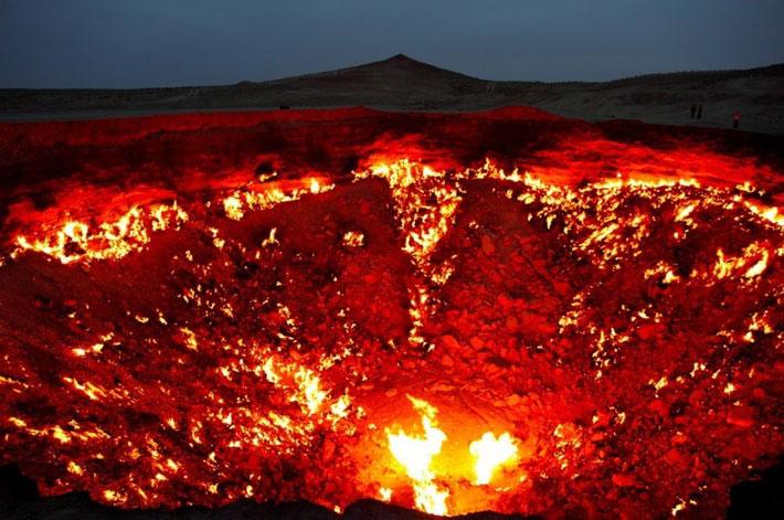 Cánh cổng tới địa ngục, Turkmenistan