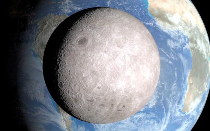 Vùng tối của Mặt Trăng không thể nhìn thấy trực tiếp từ Trái Đất.