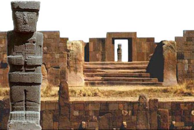 Tiwanaku là một thành phố cổ nằm phía đông nam của hồ Titicaca thuộc miền tây La Paz tại Bolivia.