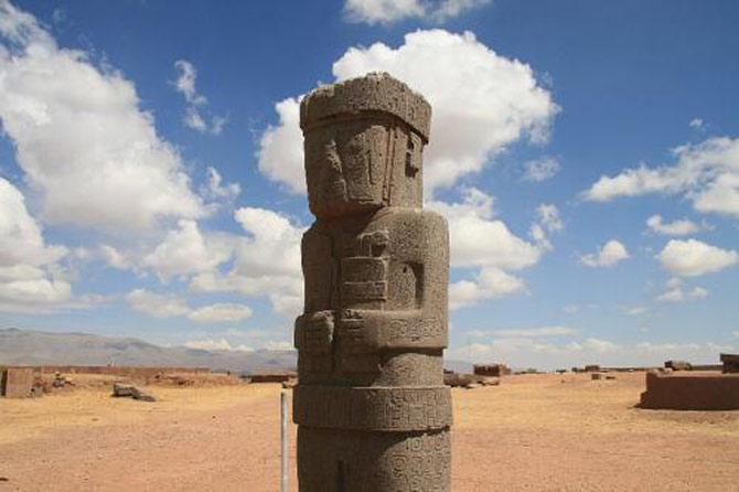 Đế chế Tiwanaku phát triển mạnh mẽ và hưng thịnh nhất vào giai đoạn thế kỷ thứ 7,8.