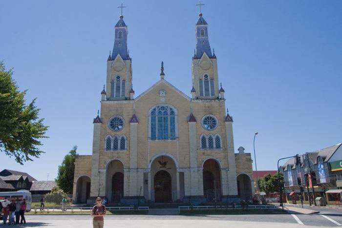 Unesco đã công nhận các nhà thờ ở Chiloe của Chile là Di sản văn hóa thế giới năm 2000.