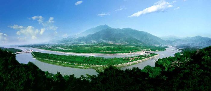 Toàn cảnh khu vực núi Thanh Thành