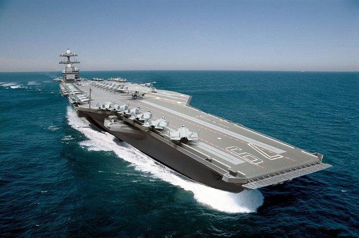 CVN-79 là tàu chiến thứ 3 mang tên của một thành viên đã qua đời của gia đình Kennedy.