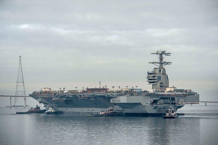 USS Gerald R. Ford có chi phí chế tạo khoảng 17 đến 18 tỉ USD