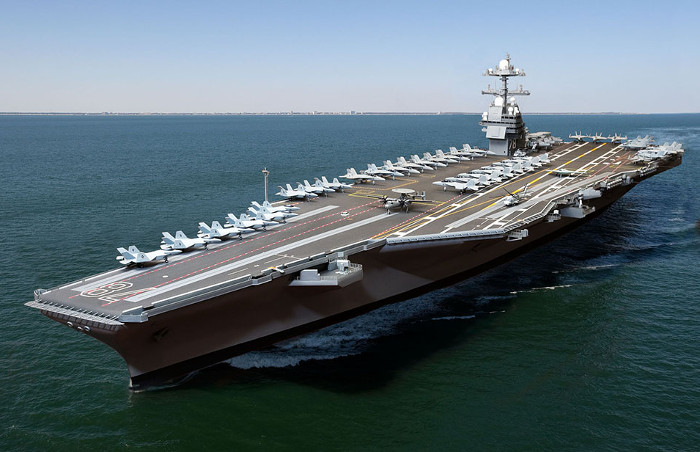 Ngoại trừ USS Enterprise, những hàng không mẫu hạm còn lại đều mang tên của các đời tổng thống Mỹ
