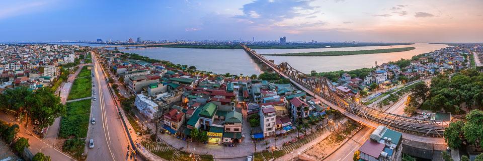 """""""Cầu Long Biên"""" - tác giả Nguyễn Tuấn Hải."""