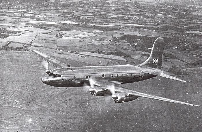 Avro Tudor là dòng máy bay được chế lại từ máy bay ném bom Avro Lincoln.