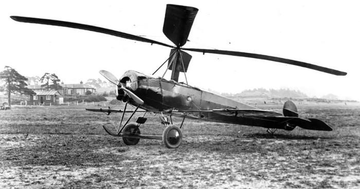 Trong hình là một chiếc C.6 thế hệ đầu, nó được trang bị các cánh liệng (aileron) riêng biệt.