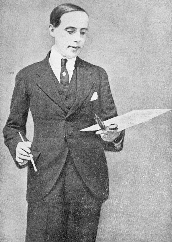 Einar Mogens Wegener khi còn trong hình dạng nam giới.