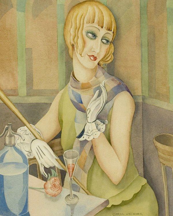 Nhờ những bức vẽ Lili mà Gerda dần trở nên nổi tiếng trong giới hội họa.