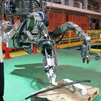 Nhật Bản chế robot thu gom rác thải phóng xạ