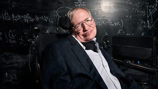 Nhà vật lý Hawking.