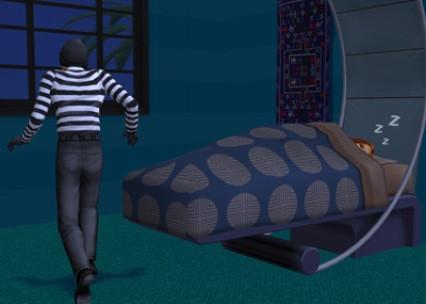 Thời điểm mọi người buông hết mọi việc để ngủ, đôi khi quên khóa cửa, đây là thời điểm lý tưởng để trộm cắp ra tay.