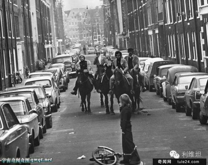 Khi cuộc khủng hoảng dầu mỏ nổ ra năm 1973, chính phủ Hà Lan quyết định ban bố lệnh cấm ô tô lưu thông vào Chủ nhật hàng tuần. Nhiều người dân Hà Lan đã chọn cách đi bộ, xe đạp hoặc cưỡi ngựa trên đường phố.