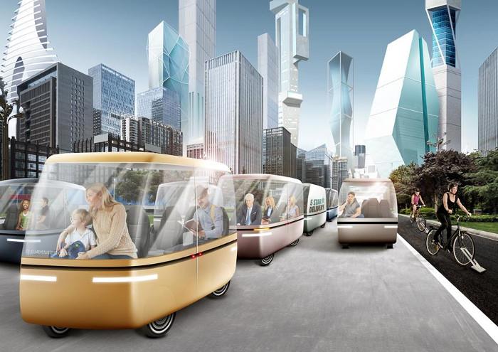Trong 30 năm tới và những ngôi nhà cao tầng sẽ trở thành những thành phố mini.