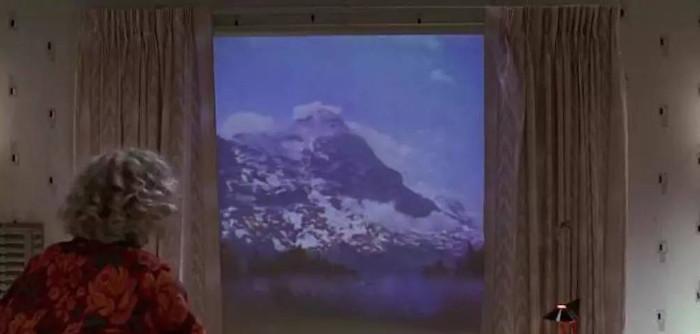 Ngôi nhà trong tương lai, cửa sổ sẽ được thay thế bằng màn hình thực tế ảo.
