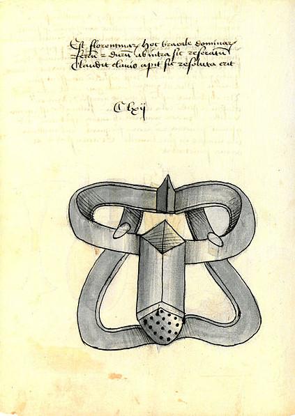 Bản vẽ đai trình tiết đầu tiên vào năm 1405.