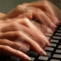Gõ phím quá nhanh sẽ giảm chất lượng nội dung cần viết