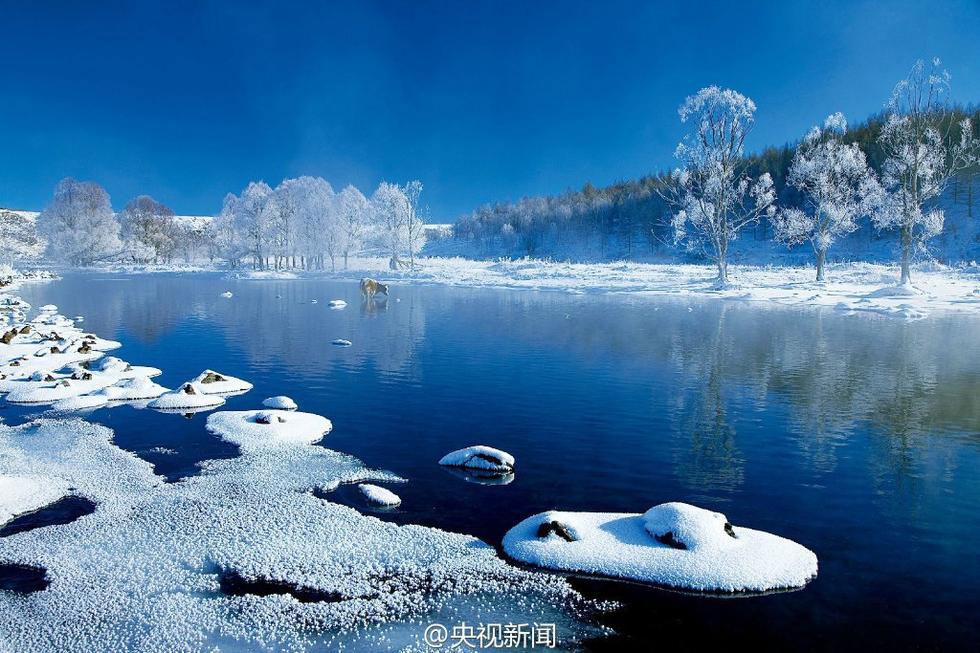 Vào mùa đông, nhiệt độ ở dãy Đại Hưng An (tỉnh Hắc Long Giang) có thể xuống tới -40 độ C.