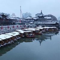 Băng tuyết phủ trắng tuyệt đẹp tại các danh thắng ở Trung Quốc