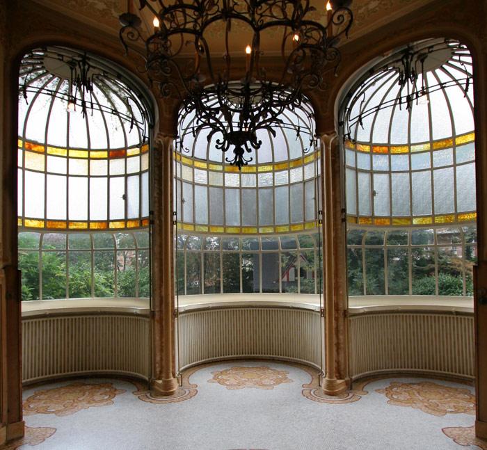 Tất cả đều được kiến trúc sư nổi tiếng Victor Horta thiết kế