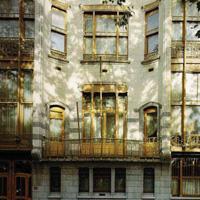 Các nhà ở do Victor Horta thiết kế ở Bruxelles