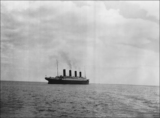 Bức ảnh cuối cùng của tàu Titanic trước khi bị đắm