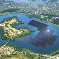 Khởi công xây dựng nhà máy điện Mặt Trời nổi lớn nhất thế giới