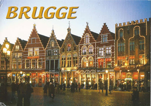 Trung tâm lịch sử của Brugge, vương quốc Bỉ
