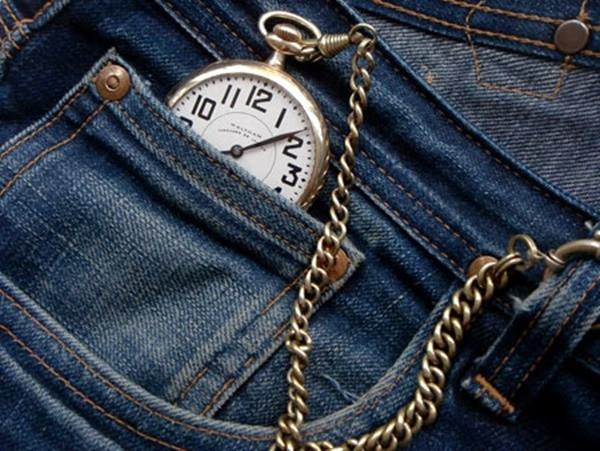 Câu trả lời chính xác được đưa ra bởi thương hiệu jeans lớn nhất thế giới Levi's, đây là chiếc túi để đựng đồng hồ quả quýt.