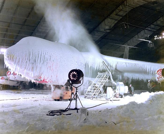 Điều kiện băng tuyết có thể được mô phỏng một cách chính xác.