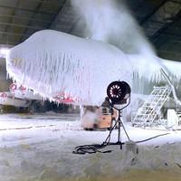 Căn phòng nơi Quân đội Mỹ tạo cả mưa băng bão tuyết để thử nghiệm vũ khí