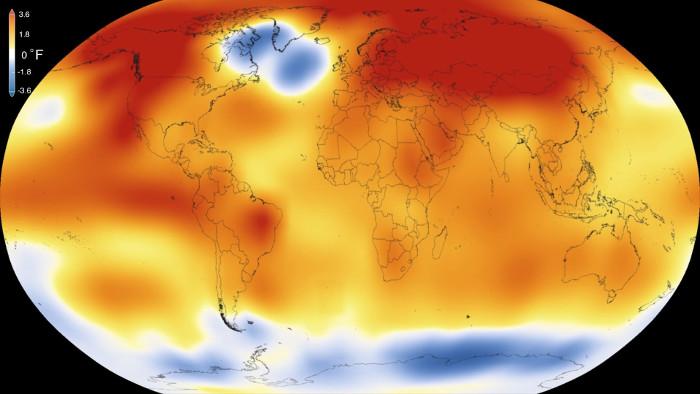 Hầu hết các lần ấm lên đều xảy ra trong 35 năm qua, với 15 năm nóng kỷ lục, kể từ 2001.