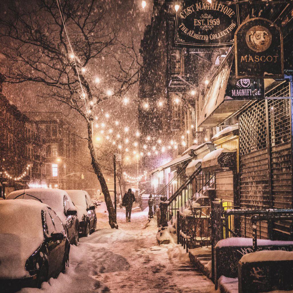 Đây quả thực là mùa đông thần tiên cho tất cả người dân New YorkYork.