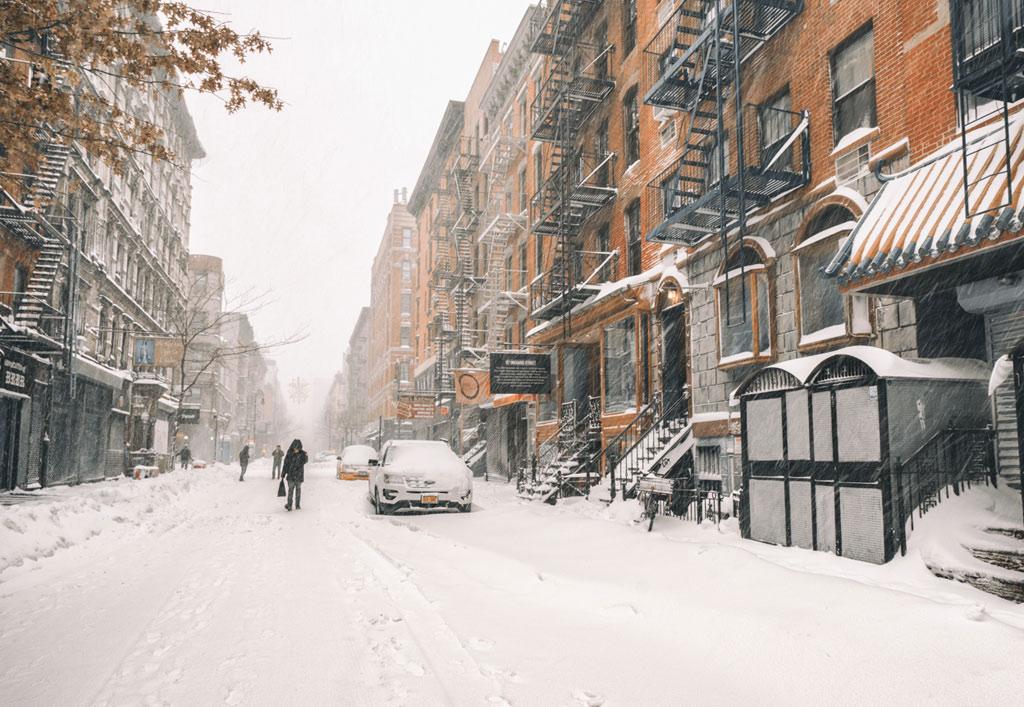 Dân New York vốn nổi tiếng có nhịp sống vô cùng nhộn nhịp, đây có lẽ chính là dịp hiếm hoi để họ chững lại và cảm nhận cái đẹp từ thành phố vội vàng này.