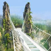 Tới Trung Quốc khám phá cây cầu kính cao và dài nhất thế giới