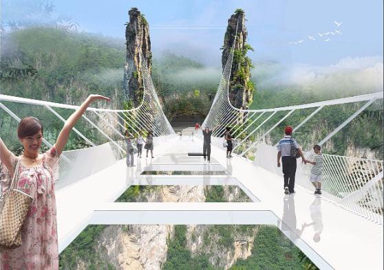 Ông Dotan cho biết cây cầu có thể làm sàn catwalk cho các chương trình biểu diễn thời trang.