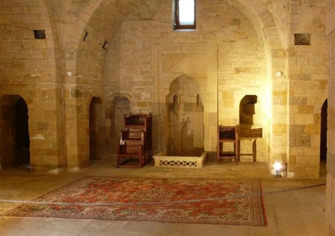 Cung điện Shirvan-Shah được xây dựng vào thế kỷ 15