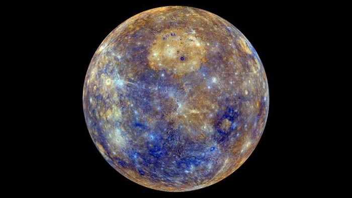 Kích thước của sao Thủy là khoảng 0,383 lần so với Trái Đất.