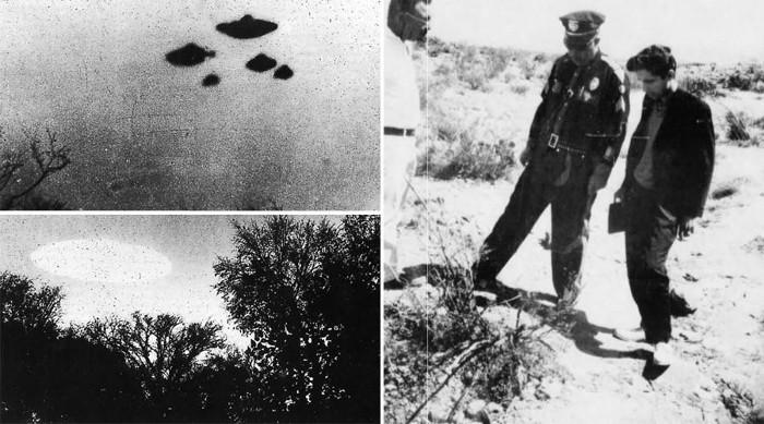 Một số hình ảnh về đĩa bay do CIA công bố.