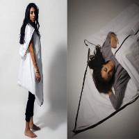 Ý tưởng về chiếc áo khoác có thể biến thành lều, túi ngủ dành cho người di cư