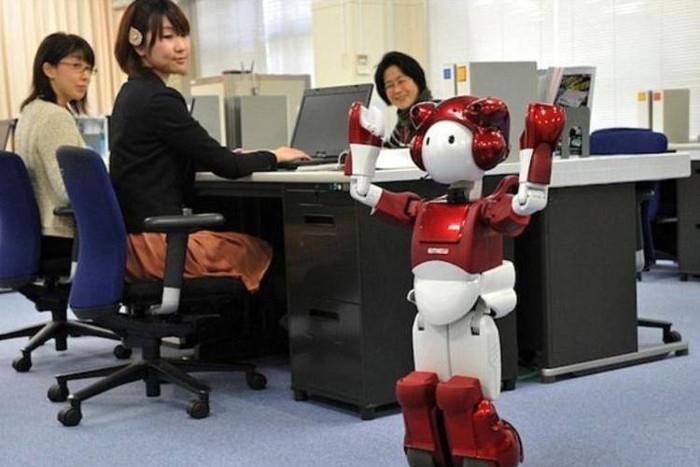 Những con robot giống như thế này sẽ thay thế rất nhiều công việc làm của con người trong tương lai.