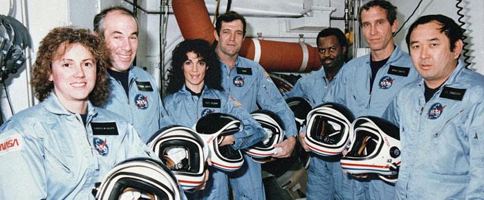 7 phi hành gia trên tàu